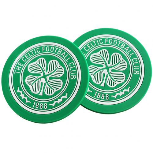 Celtic F.C. 2pk Coaster Set