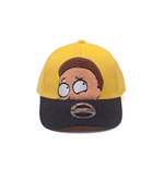 Rick and Morty - Morty Chenille Flat Embroidery Curved Bill Cap