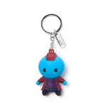 Marvel Superheroes Keychain - Fondu Kawaii 3D Blue