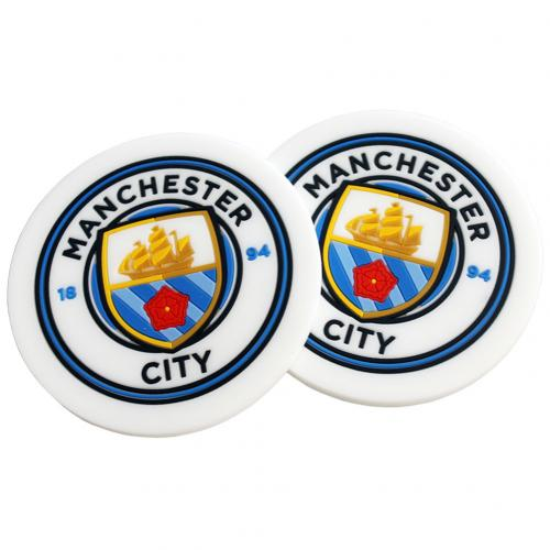 Manchester City F.C. 2pk Coaster Set