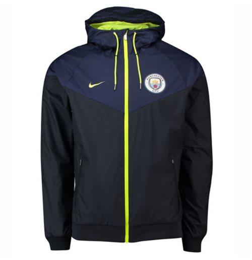 39f89b03d8 Buy 2018-2019 Man City Nike Authentic Windrunner Jacket (Navy)