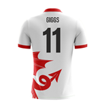 2018-2019 Wales Airo Concept Away Shirt (Giggs 11)
