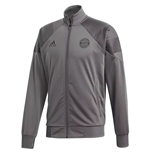 2018-2019 Bayern Munich Adidas Icon Track Jacket (Grey)