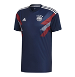 2018-2019 Bayern Munich Adidas Pre-Match Training Shirt (Navy)