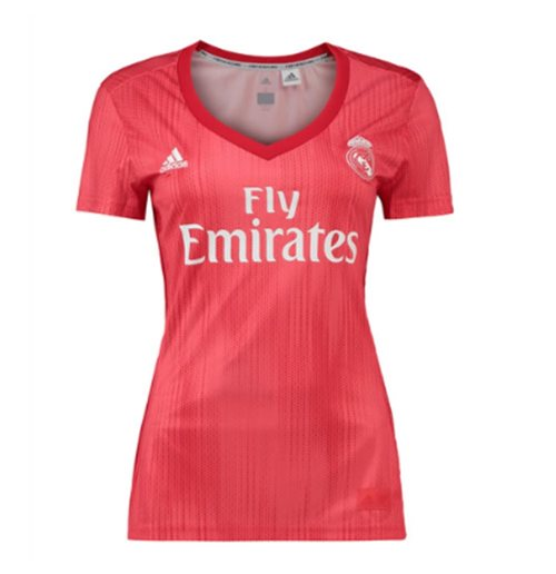 2018-2019 Real Madrid Adidas Womens Third Shirt