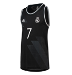 2018-2019 Real Madrid Adidas Tank Top (Black)