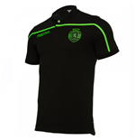 2018-2019 Sporting Lisbon Macron Cotton Polo Shirt (Black)
