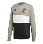 2018-2019 Juventus Adidas Graphic Sweat Top (Sesame)