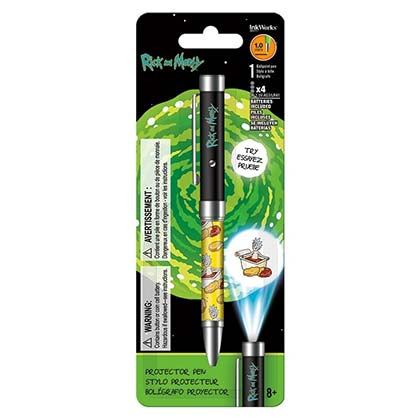 Rick And Morty Projector Writing Pen
