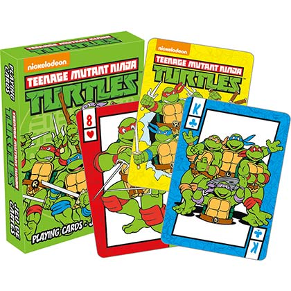 Nickelodeon TEENAGE MUTANT NINJA TURTLES TMNT Playing Cards