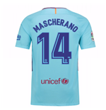 2017-2018 Barcelona Away Shirt (Mascherano 14)