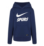 2018-2019 Tottenham Nike Core Hooded Top (Navy)