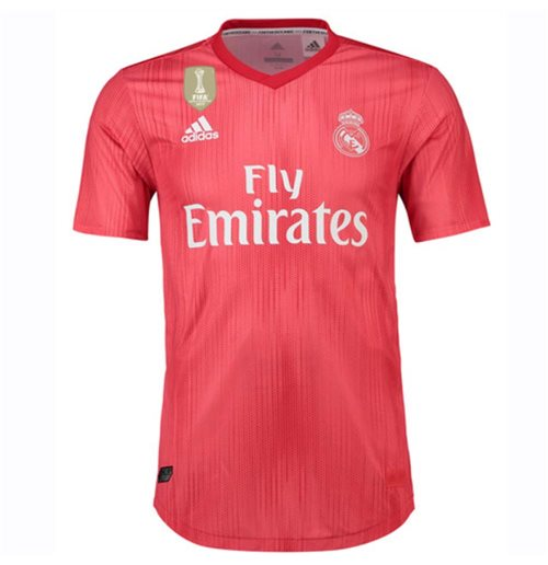 2018-2019 Real Madrid Adidas Authentic Third Football Shirt