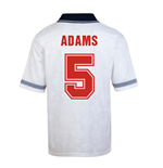 Score Draw England World Cup 1990 Home Shirt (Adams 5)