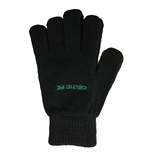 Celtic FC Wool Gloves (Black)