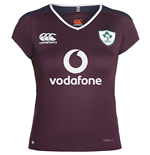 2016-17 Ireland Canterbury Womens Alternate Pro Rugby Shirt