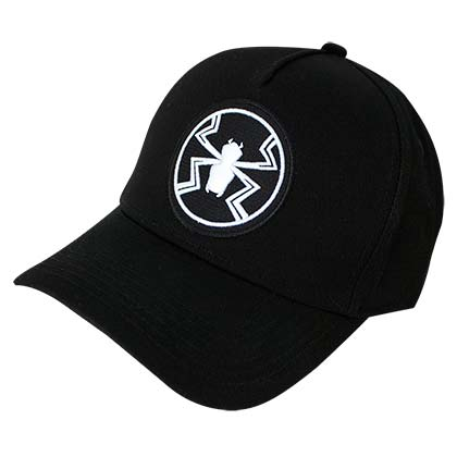 Marvel VENOM Logo Men's Adjustable Black Hat