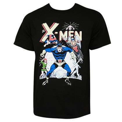 X-MEN Classic Cyclops Men's Black TShirt