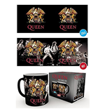 Queen Heat Changing Mug - Crest