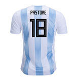 2018-19 Argentina Home Shirt (Pastore 18) - Kids
