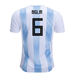 2018-19 Argentina Home Shirt (Biglia 6) - Kids