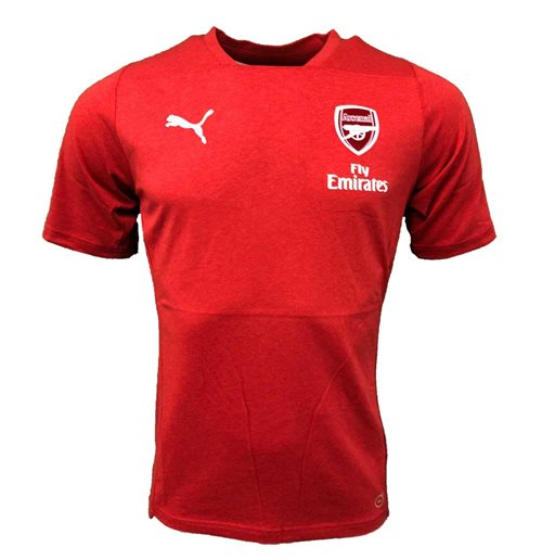 2018-2019 Arsenal Puma Casual Performance Tee (Red)