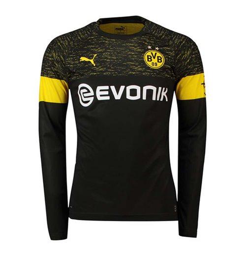 newest 32c7e 4ed8b 2018-2019 Borussia Dortmund Away Long Sleeve Puma Shirt