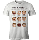 Rick and Morty T-Shirt Morty Faces