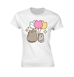 Pusheen Ladies T-Shirt Balloons