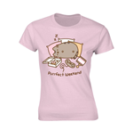 Pusheen Ladies T-Shirt Purrfect Weekend Pink