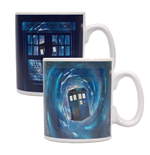 Doctor Who Heat Change Mug Time Lord