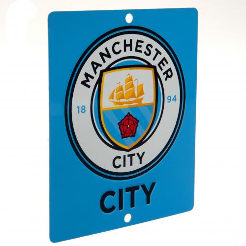 Manchester City F.C. Window Sign SQ