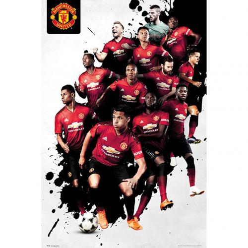 Manchester United F.C. Poster Players 24