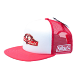 FALLOUT Nuka World Trucker Cap, White/Red
