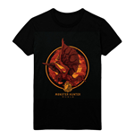 MONSTER HUNTER Screaming Rathalos T-Shirt, Male, Small, Black