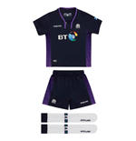 2018-2019 Scotland Macron Home Rugby Mini Kit
