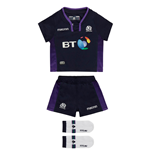 2018-2019 Scotland Macron Home Rugby Baby Kit