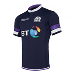 2018-2019 Scotland Home Authentic Pro Body Fit Rugby Shirt