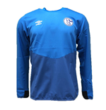 2018-2019 Schalke Umbro Drill Top (Blue)