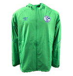 2018-2019 Schalke Umbro Shower Jacket (Green)