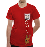 Scooby Doo - Scooby Pocket - Unisex T-shirt Red