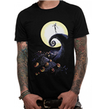 Nightmare Before Christmas - Cemetery - Unisex T-shirt Black