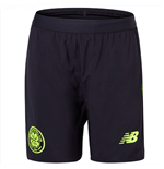 2018-2019 Celtic Third Shorts (Black) - Kids