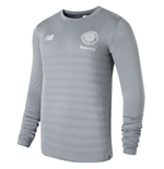 2018-2019 Celtic Elite Seamless LS Jersey (Grey)