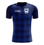 2018-2019 Scotland Tartan Concept Football Shirt