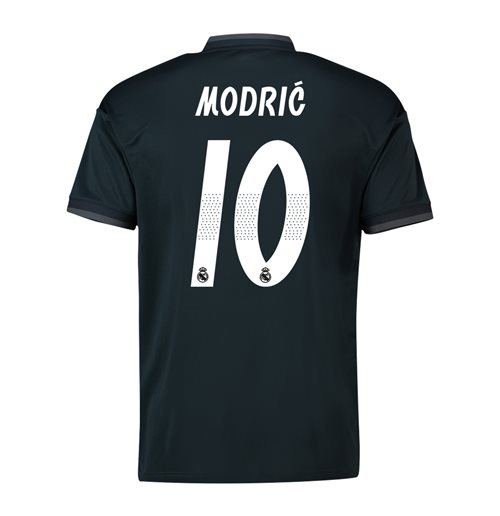 2018-19 Real Madrid Away Shirt (Modric 10)