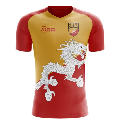 2018-2019 Bhutan Home Concept Football Shirt for only C$ 60.50 at ...