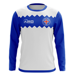 2018-2019 Iceland Long Sleeve Away Concept Football Shirt (Kids)