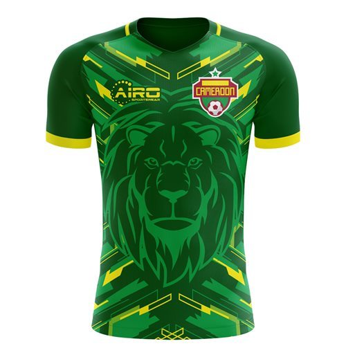 2018-2019 Cameroon Home Concept Football Shirt for only C$ 60.28 at ...