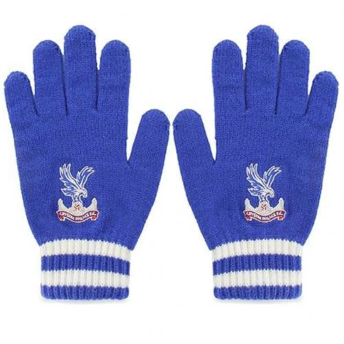 Crystal Palace F.C. Knitted Gloves Adult
